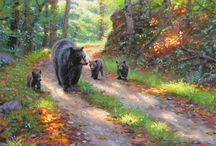 "Art- Mark Keathley / Sharing the artworks of Mark Keathley (1963 - ), an American Artist, capable of capturing the perfect moment on a hike thru the mountains or on the farm. """"I want my paintings to inspire people to be still, to listen to that quiet voice, and then rise up assured that they are a part of something bigger than their schedule."""