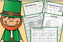 St. Patricks Day Worksheets Etc / by Brandy Madison