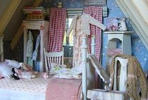 Dolls house bedroom ideas