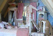 Dolls house bedroom ideas