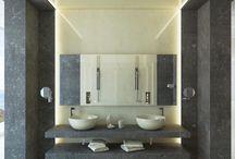 Baños / Puedes encontrar aquí distintos trabajos de arquitectura de baños realizados por Mármoles Mabello