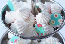 Sweet meringue kisses