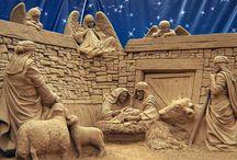 Art-Sculptures Sand  / Amazing sand sculpture / by Marti Reid
