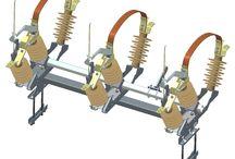 Electric switches medium voltage