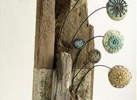 ceramika i drewno