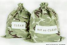 Metka by Traczka on Etsy / Underwear travel baggies from my Metka by Traczka studio - available on www.etsy.com