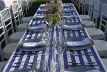 ¡Buen provecho! / Una mesa divertida y elegante para una celebración perfecta.