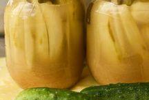 ogórki w musztardzie