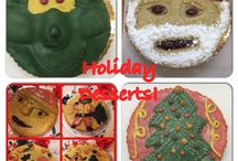Holiday Desserts! / Amazing holiday desserts made at Wild by Nature bakery! Cookie, pies, fruit tarts, cakes, pastry and more!