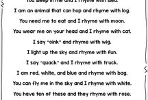 Kindergarten Rhyming
