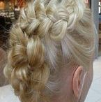 Braids hair / braids, french, wedding