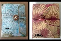 Crealies Masks & More Mini Stencils Creations