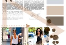 Magazine layouts created my LMason / All created by myself on Polyvore! Let me know which ones your like and any suggestions on colour palettes and layouts for a new creation!
