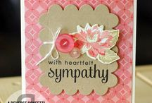 Sympathy Cards / Those hard to make cards that you just always need in a hurry….