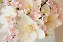 flores de porcelana