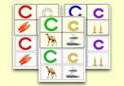 Letter Sound 'c' Activities - Phonic Teaching Ideas - Initial Letter Sound Art & Crafts