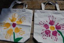 Kid Handprint Craft Ideas / by Shelley Brown