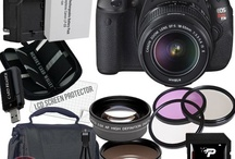Digital SLR Camera Bundles Canon T3i / by Lewis Tucker
