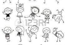 Niños para bordar