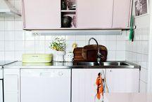 ...Pink kitchen?