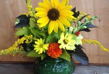 Flower Arrangements / Various flower arrangements