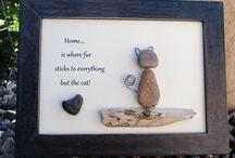 pebbles art