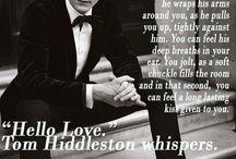 Tom Hiddleston- Mucha love