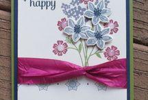beautiful bouquet cards