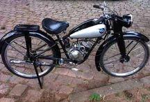 Bicicleta NSU QUICK 1953,98cc