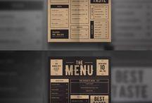 cartas menu
