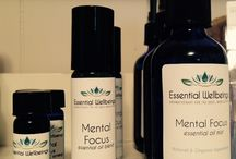 For The Mind, Essential Oil Blend / Essential oils, when inhaled, can create an amazing effect on our mental wellbeing.  I have created a line of blends specific to common mental concerns and offer them in three different forms for easy use; Synergy (pure essential oil), Roll-On Applicator, and Mist Bottle.