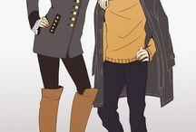 Hanji x Levi