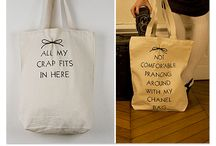 Funny quotes on bags