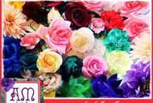 Flores de Flamenca / Nuestra Flores de tela! Para todos los gustos :)