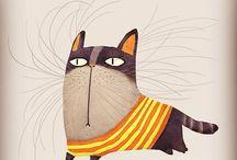 cats art, cat toy