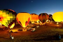 Hot Air Balloon Glow / Saturday Evening at Carolina BalloonFest
