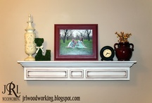 Mantle shelf / by Teresa Bogan