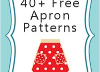 Apron patterns.