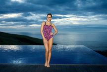 Colourful swimwear / Colourful swimwear.