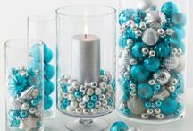 Blue and Silver Christmas Inspiration