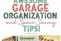 Garage Organization / Garages can be one of the biggest clutter-catchers in our homes! Here you will find simple ways to get and stay organized in this space.