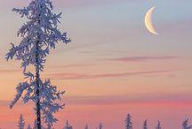 Moon/sky