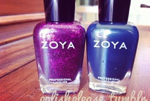 Zoya / collection of zoya Nail Polishes available at Bellemani salon / by Bellemani Salon