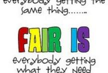 Fairness / Sayings