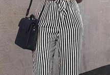 stylé en pantalon raillé