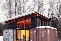 Teeny spaces & shipping containers