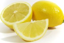 FOOD: LEMONS~SUPER FOODS / There are many health benefits of lemons that have been known for centuries. The two biggest are lemons' strong antibacterial, antiviral, and immune-boosting powers and their use as a weight loss aid because lemon juice is a digestive aid and liver cleanser. Lemons contain many substances--notably citric acid, calcium, magnesium, vitamin C, bioflavonoids, pectin, and limonene--that promote immunity and fight infection.   / by Terri Strong Dufrene