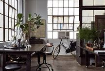 Work Spaces / interior, studio, work spaces, work at home