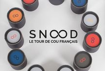 Snood - Packaging made in France / Snood, le tour de cou français est fabriqué en France et son packaging aussi !