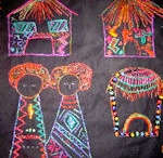 African Folklore Embroidery / by Ola Mallard
